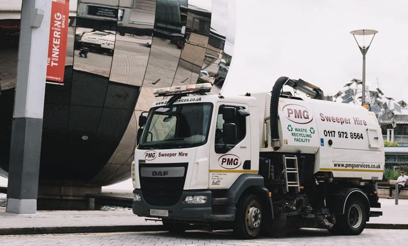 PMG Road Sweeper Hire Bristol