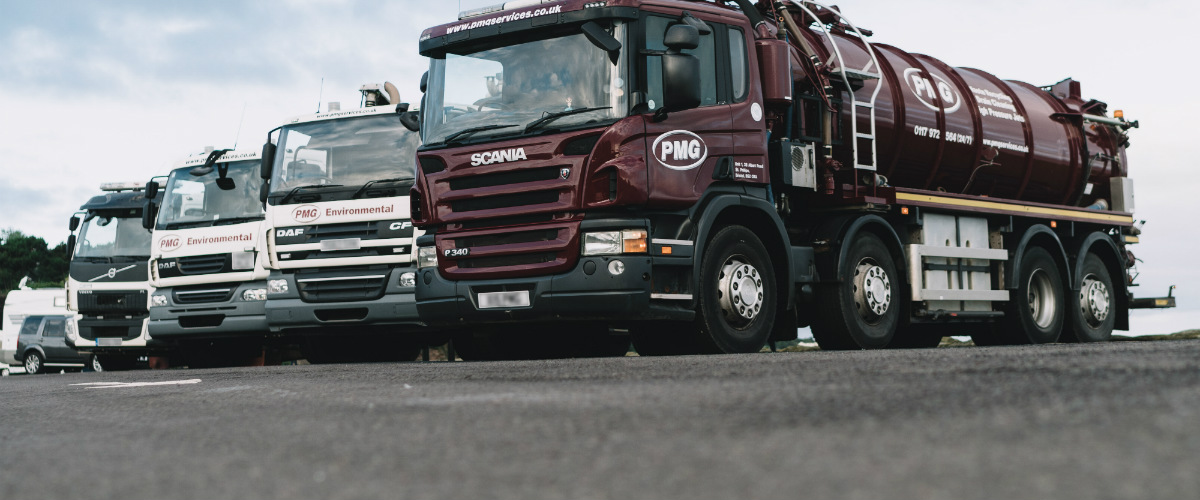 PMG road sweepers and tankers