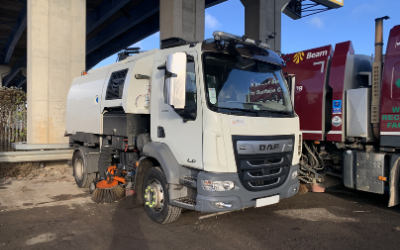 2020 at PMG Road Sweeper